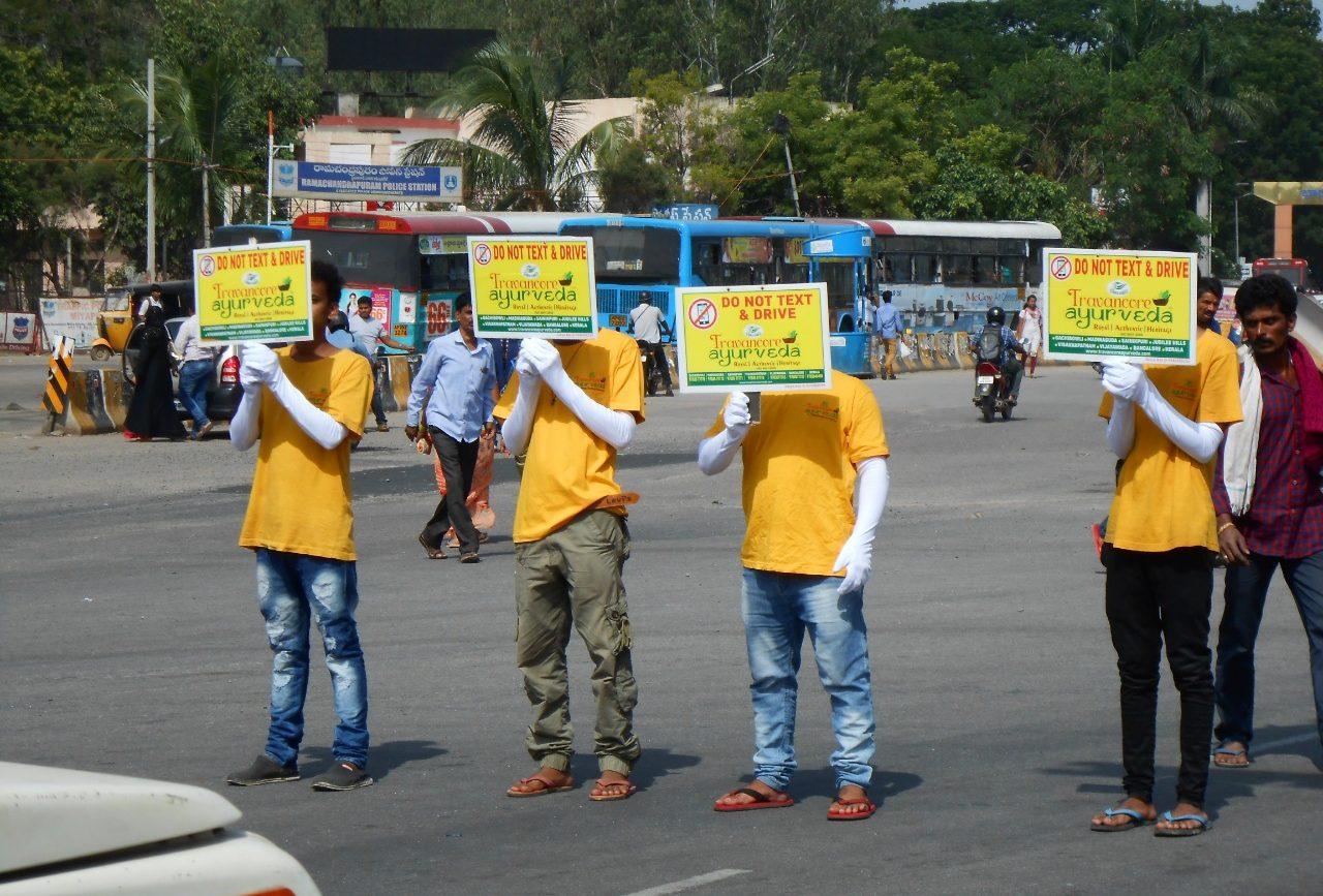 Travancore ayurveda volunteers image