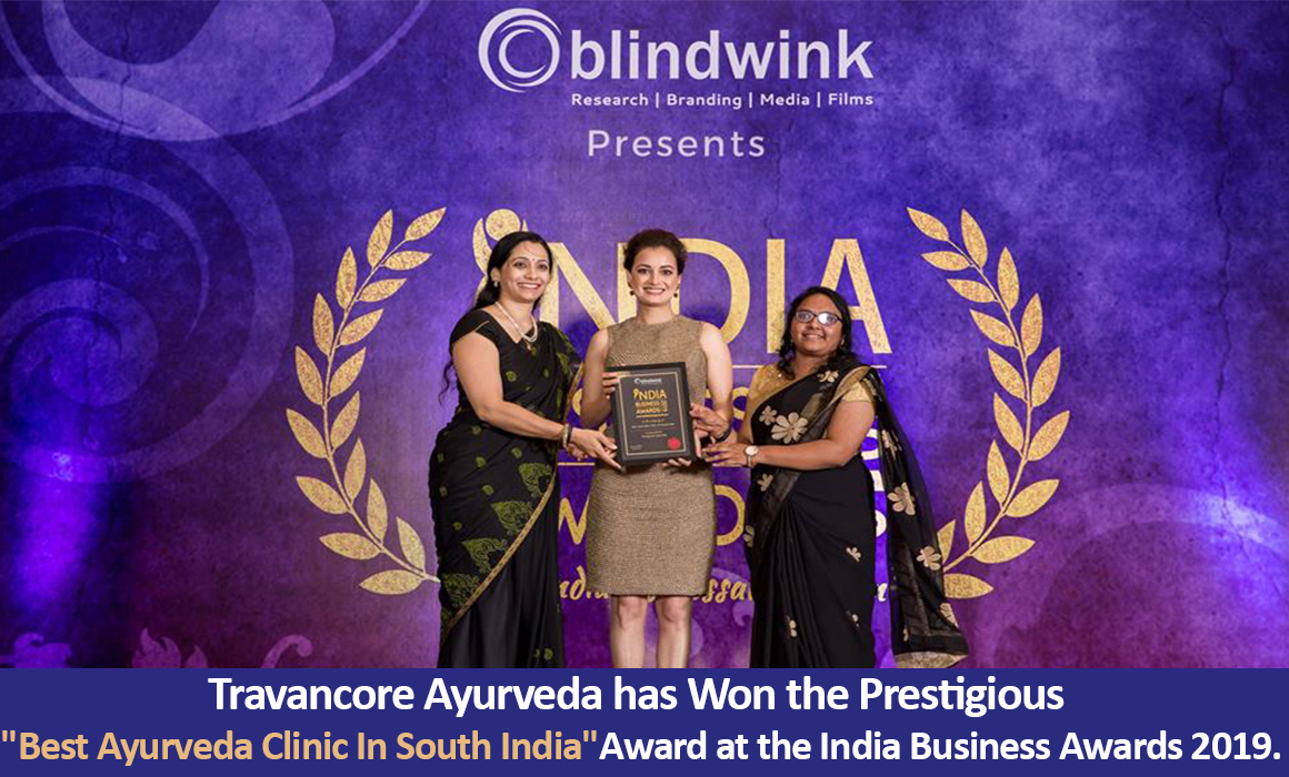 Travancore ayurveda awards 3