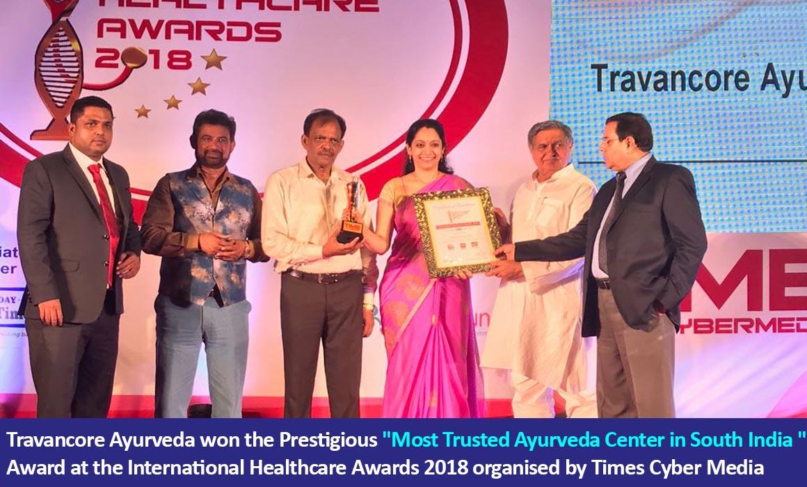 Travancore ayurveda awards 4