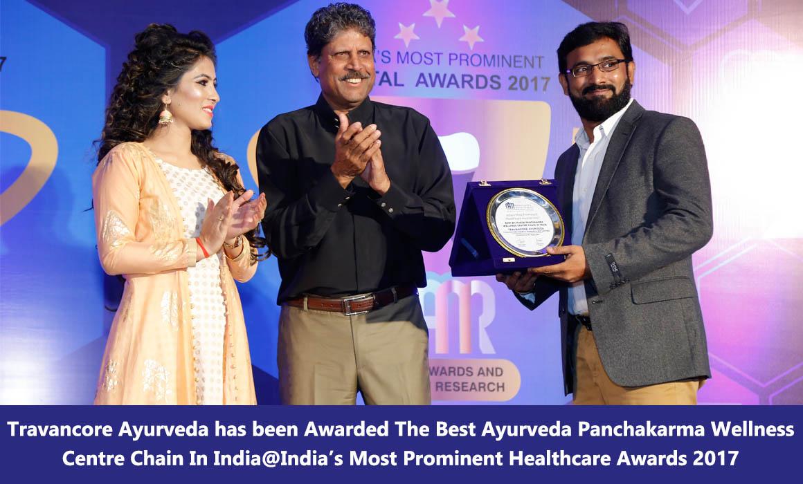 Travancore ayurveda awards 5
