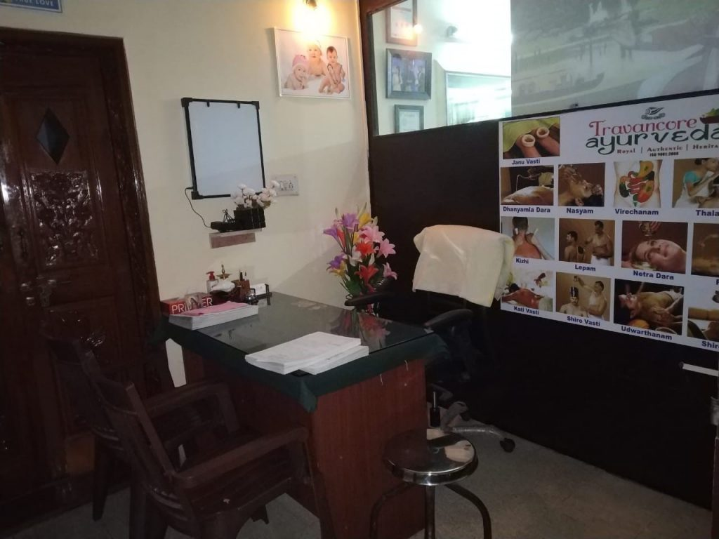 Travancore ayurveda banglore office
