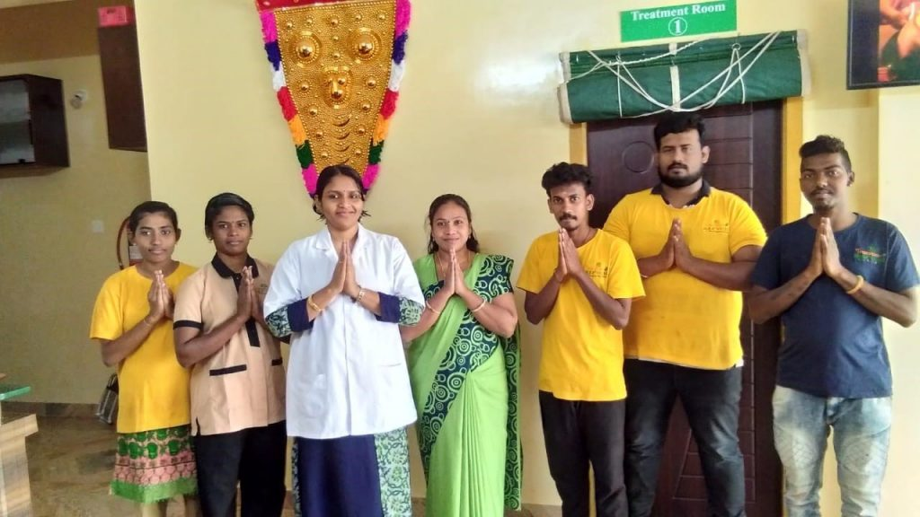 Travencore ayurveda volunteers 2