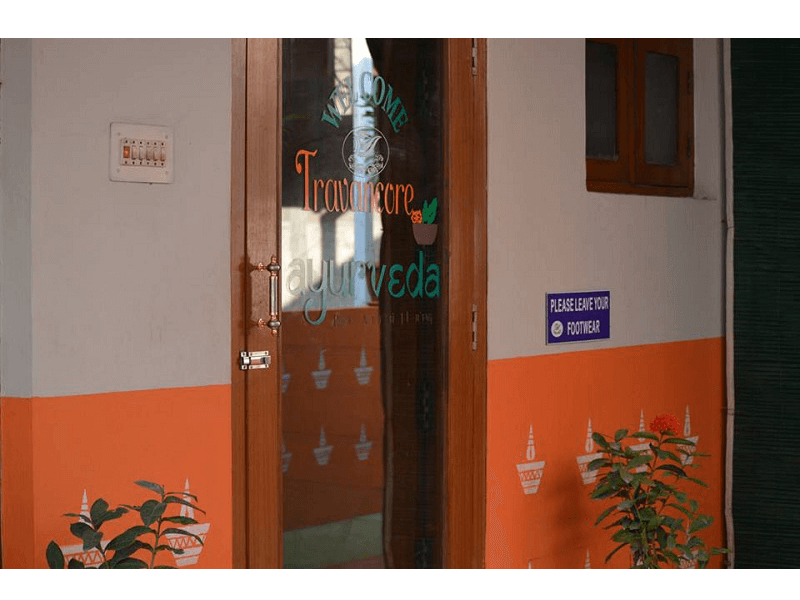 Travancore Ayurveda's Entrance